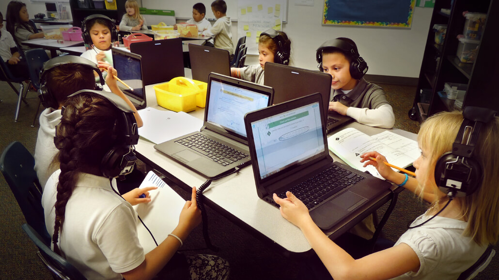During Independent Zearn Time, students learn and practice new concepts through completing engaging digital lessons.